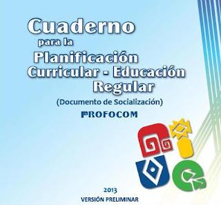 Programas Curriculares 2013 : Primero de Primaria y Secundaria