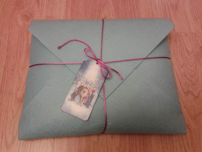 envelope gift package tutorial