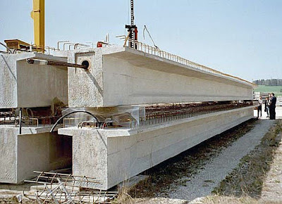 Post Tensioned Prestressed T Beam, Cost T Beam, Harga T Beam 40m,