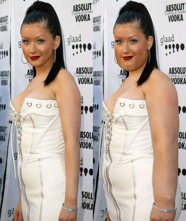 Art-Sci: Photoshop Turns Skinny Celebrities into Famous ...