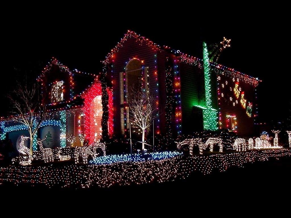 Casas decoradas para la navidad navidad im genes de la - Casas decoradas en navidad ...