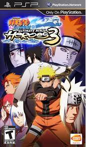 Naruto Shippuden Ultimate Ninja Heroes 3 Download game Naruto PPSSPP PSP