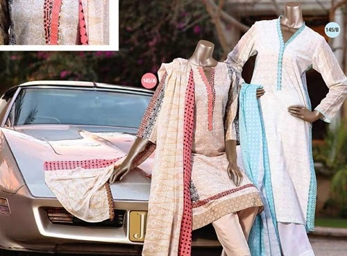 Junaid Jamshed Silk Collection 2015