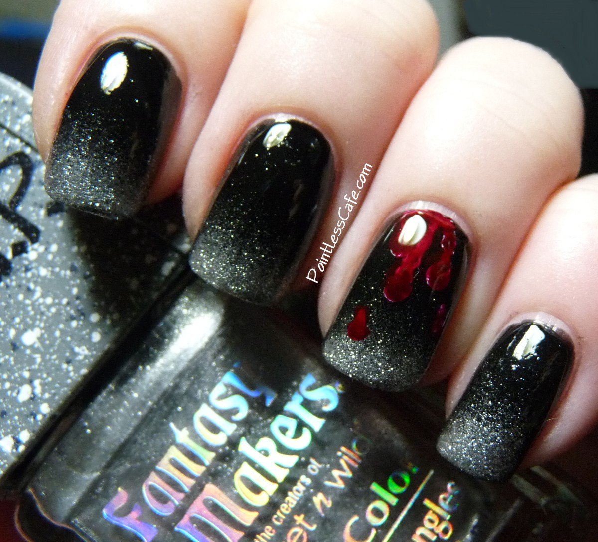 Nail Colors Halloween: Halloween Nail Art - Zombie Nails!