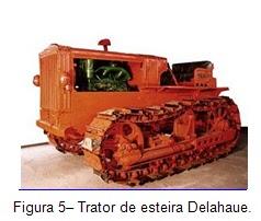Trator de esteira Delahaue