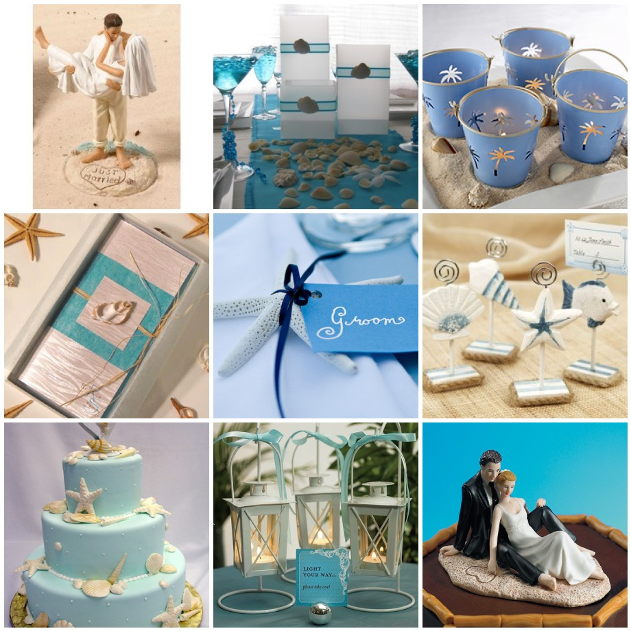 Top 5 unqiue and inexpensive beach wedding invitations for Summer beach decor