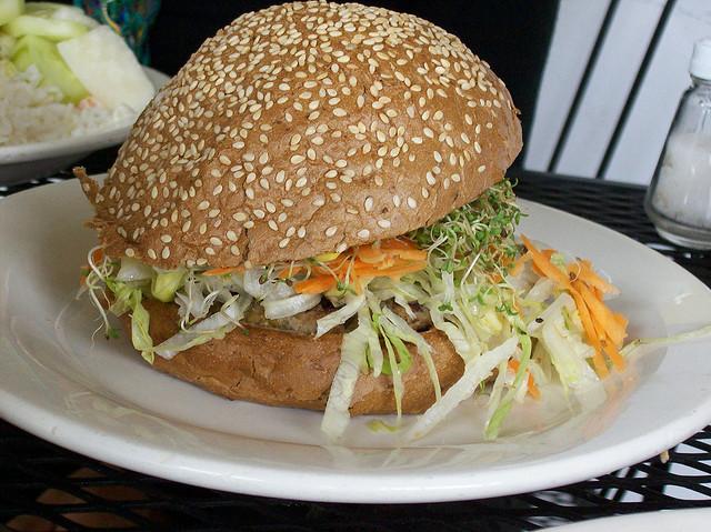 Alimentaci n sana y natural receta de hamburguesas - Hacer hamburguesas vegetarianas ...