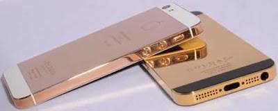 Banhado a ouro iPhone 5 chega às lojas,tecnologia