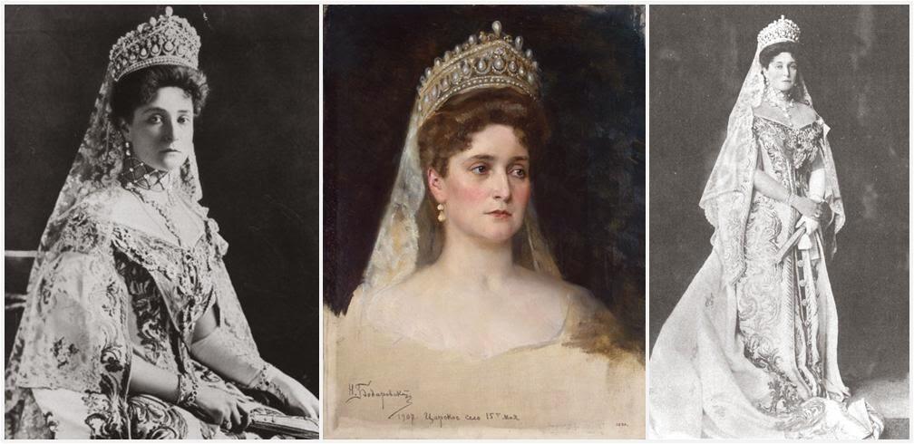 Russian Royal Wedding Dresses : The royal order of sartorial splendor tiara thursday