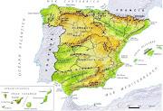El relieve de España y de AndalucíaCONOCIMIENTO (el relieve de la peninsula)