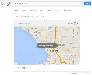 Smartphone Android Kamu Hilang? Cari Saja di Google