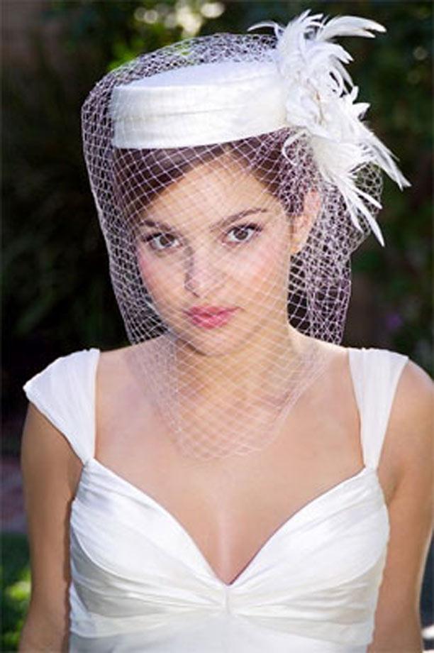 Novias Super Fashion: Para una Novia Audaz: Hermosos Sombreros