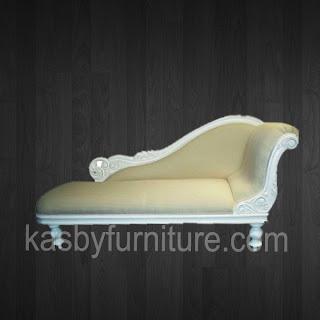 Sofa Tamu Lounge Putih
