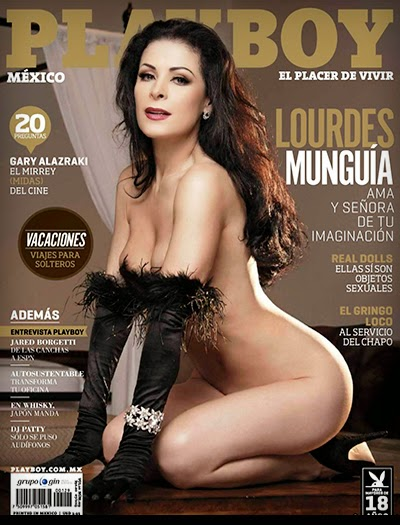Lourdes Munguia - Playboy México - Julho 2013