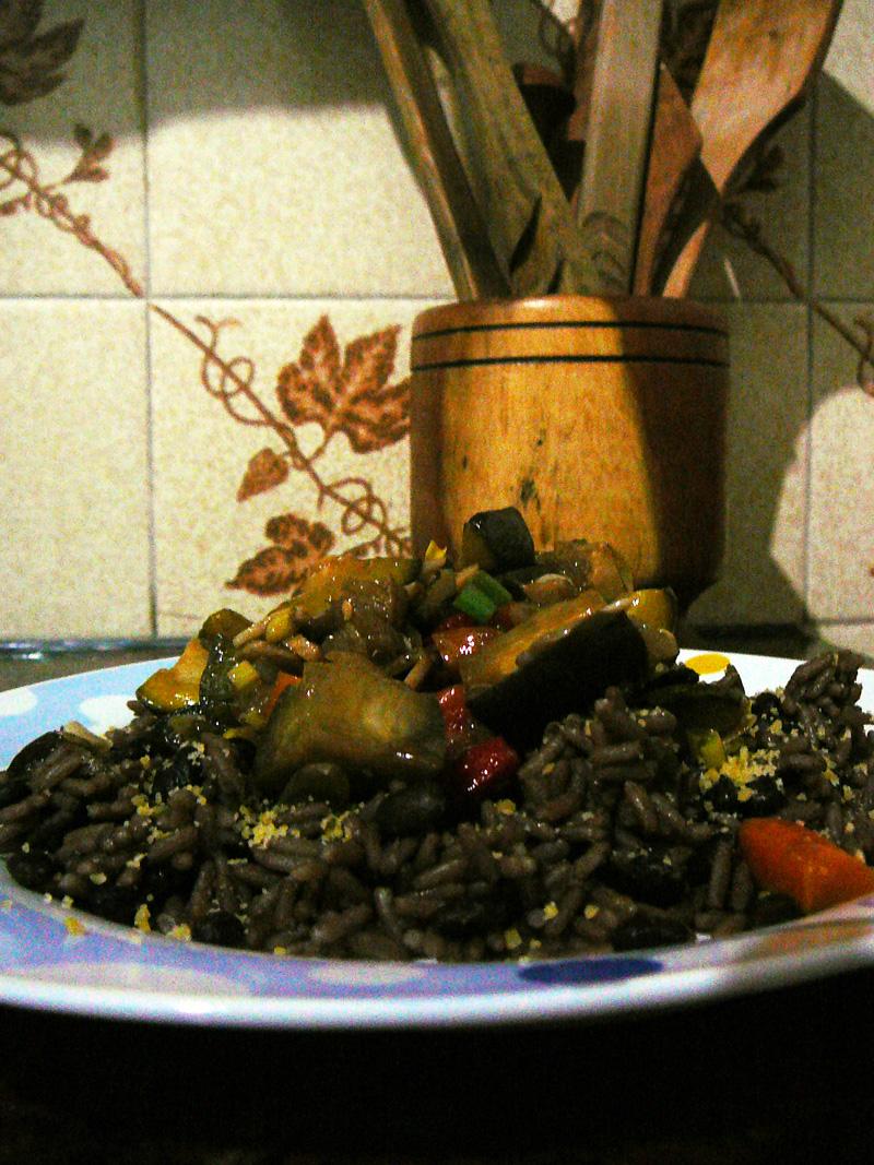 Cocina light moros y cristianos light con verduras - Arroz con verduras light ...