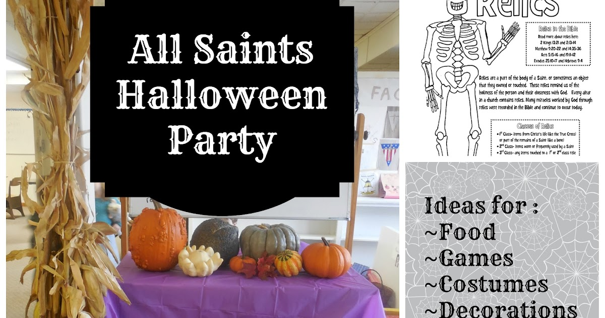 all saints halloween party