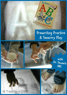 Dr. Seuss' ABC Prewriting and Sensory Play