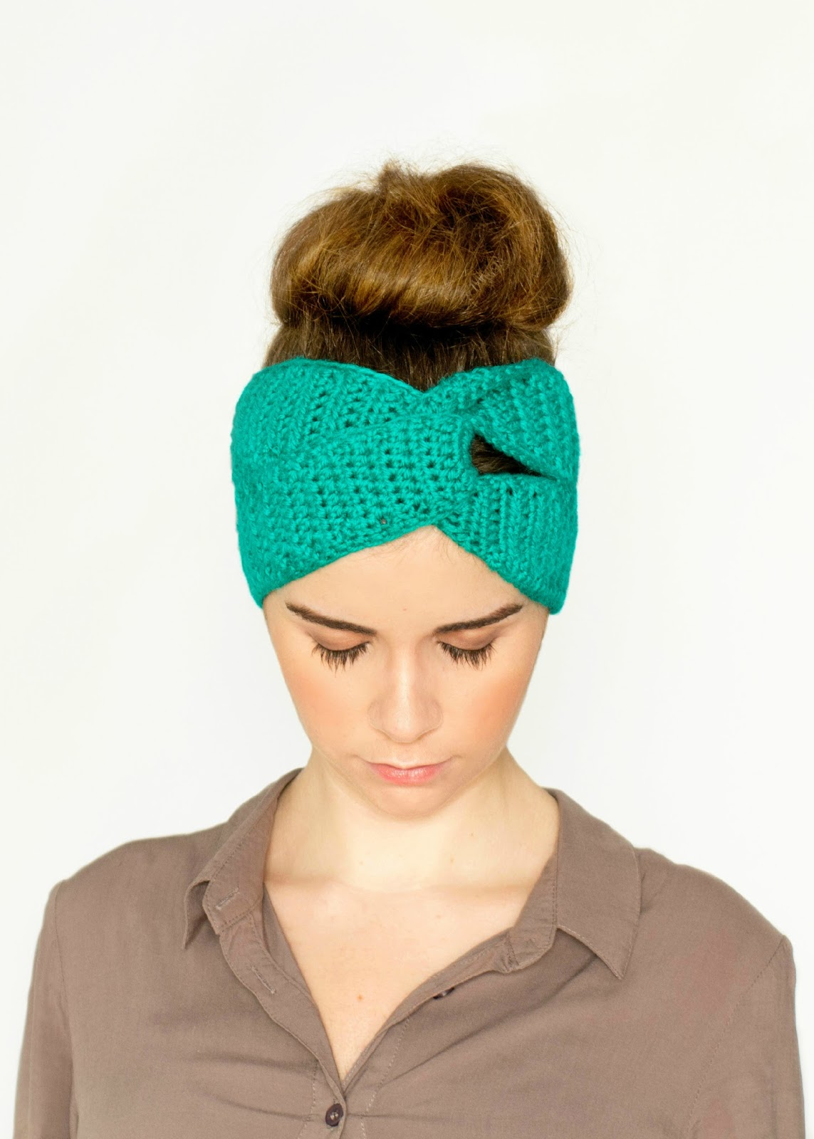 Free Crochet Pattern For Turban Headband : Hopeful Honey Craft, Crochet, Create: Twisted Turban ...