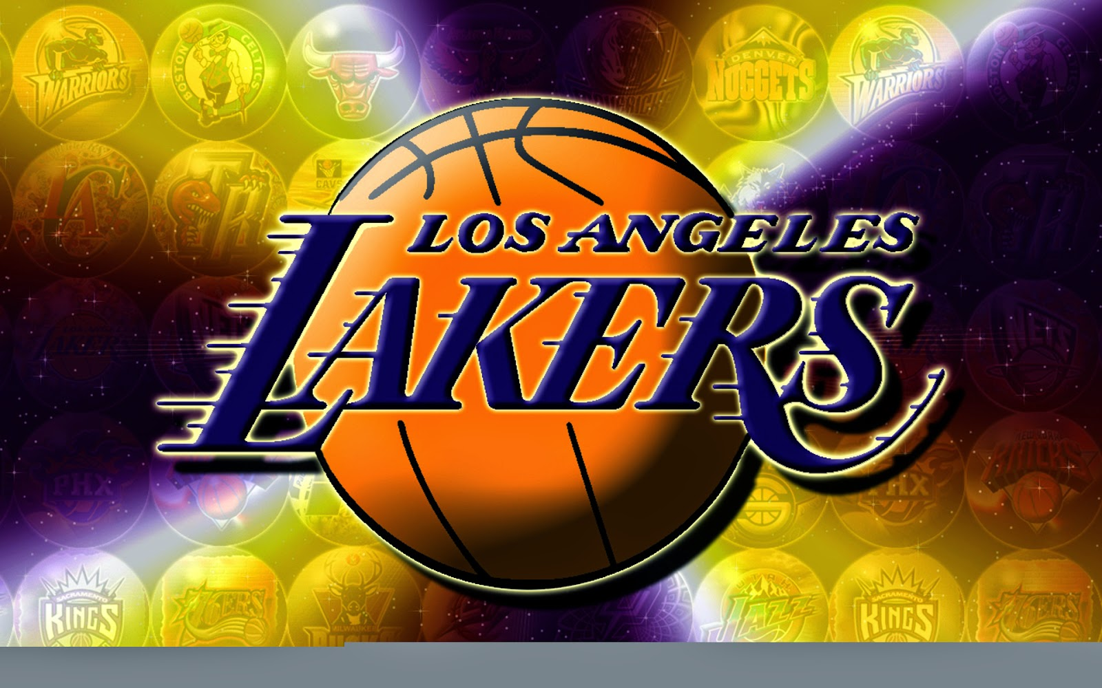 LA Lakers Wallpaper 3D Logo