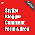 Blogger threaded comments (system) stylization with CSS code