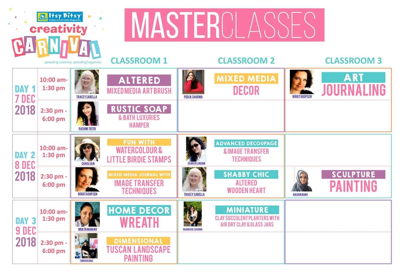 My Master class