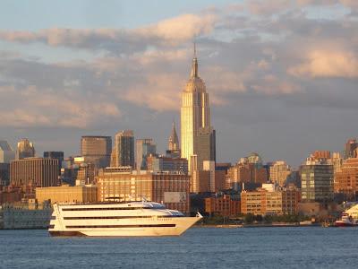 NYC skyline from Hoboken