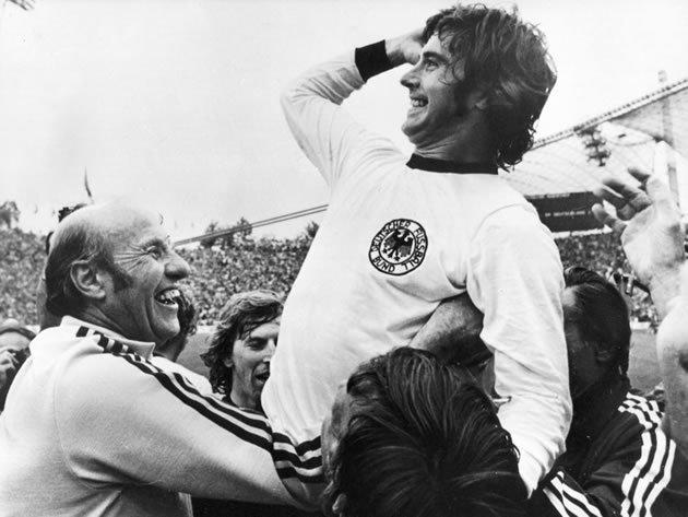 Gerd Müller é o quinto artilheiro da história do futebol