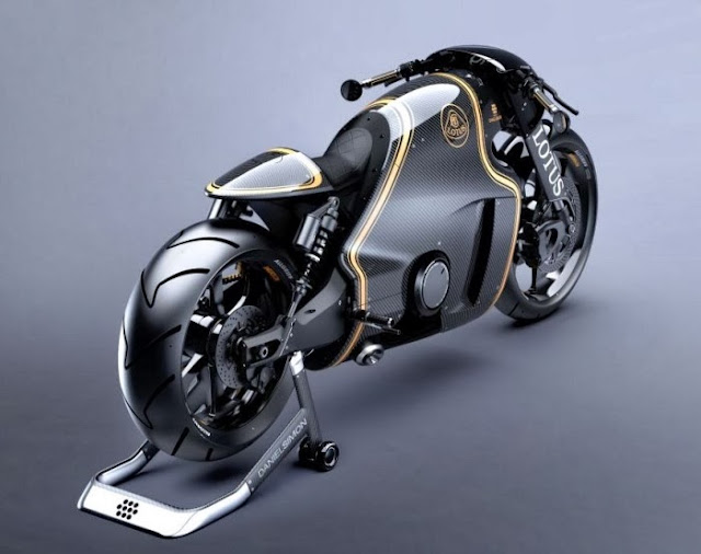 Lotus C-01: A Gorgeous Superbike