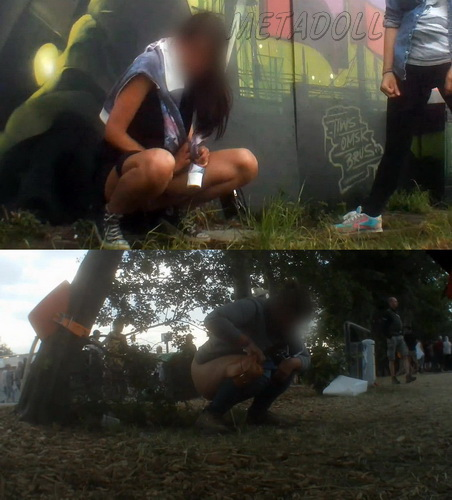 Rock Festival Piss 2015_146 (Outdoor Peeing Voyeur)
