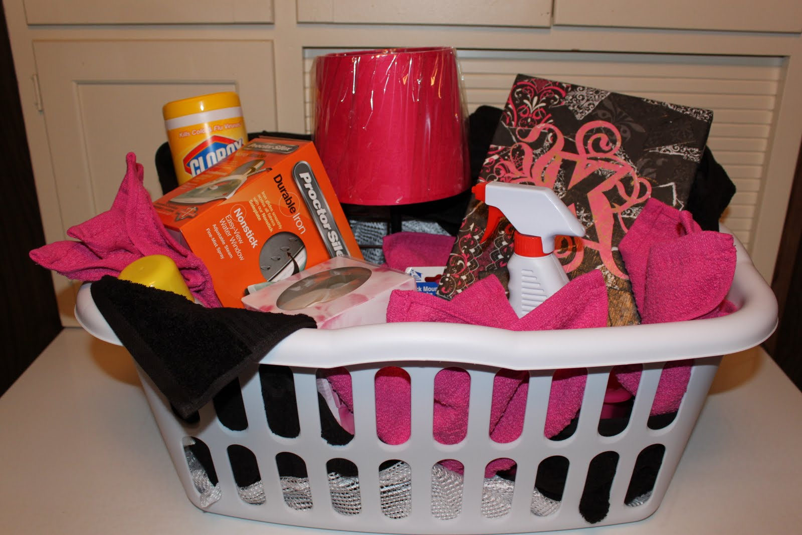 1000+ images about Cecilia s going away to college BBQ  ~ 074128_Dorm Room Gift Basket Ideas