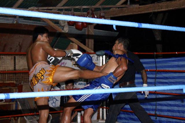 thai boxing railay beach thailand
