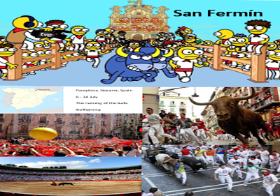 Grammazzle Spain España Sbaen Toros San Fermín Toros Fiesta TVE Kumuxumuxu Carrera Pamplona