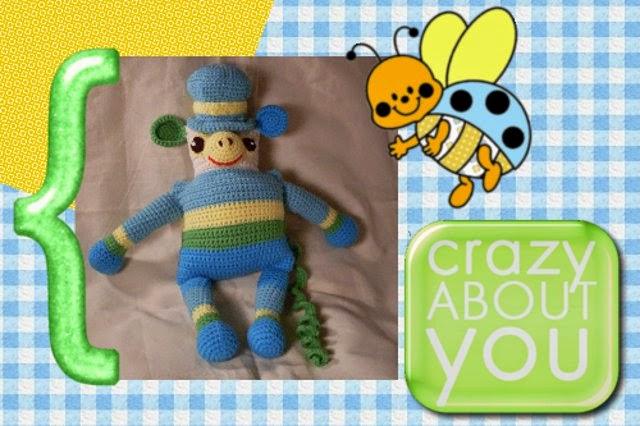 free crochet amigurumi monkey pattern