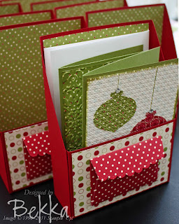 Christmas Card Club Card Holder