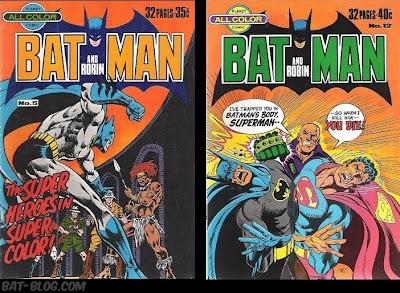 Australian: Batman #8 Federal Comics 1983 80 Pages Two Face