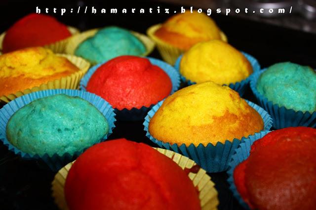 Renkli Yumuşacık Muffin