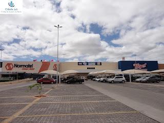 Loja Normatel ao lado do Hiper Bompreço em Juazeiro do Norte.