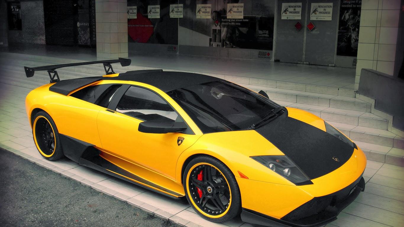 Foto Mobil Lamborghini Super Keren Terbaru 2014 HD Wallpaper