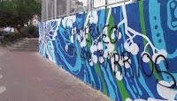 Sabotean en Tetuán un mural realizado por los vecinos antes de ser inaugurado