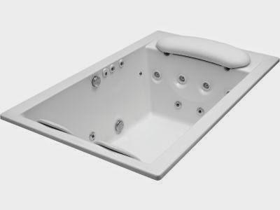 Forma rectangular bañera de 400 litros