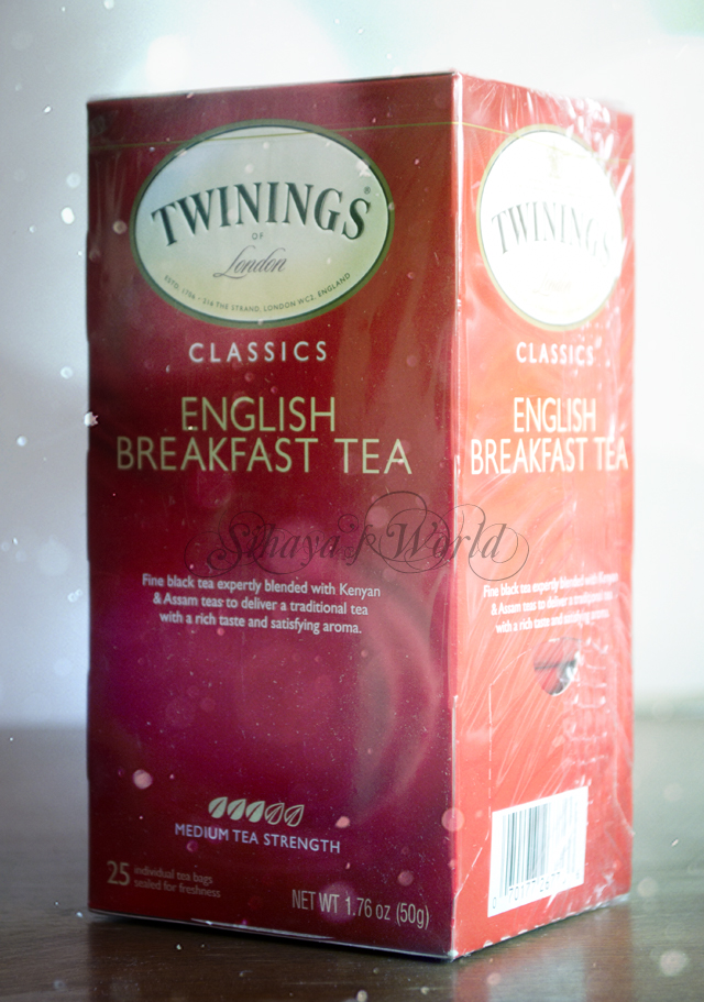 Twinnings English Breakfast Tea 1.76 oz/50 gr 3.82$