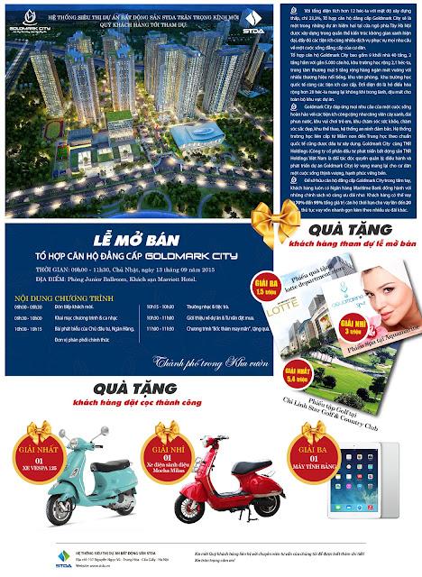 Mở bán Goldmark City