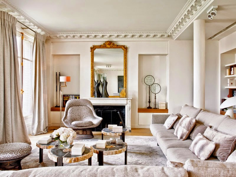 decor inspiration paris apartment interiors cool chic