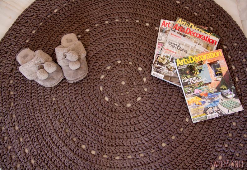 SusiMiu | Patrón de alfombra de ganchillo XXL (más grande)