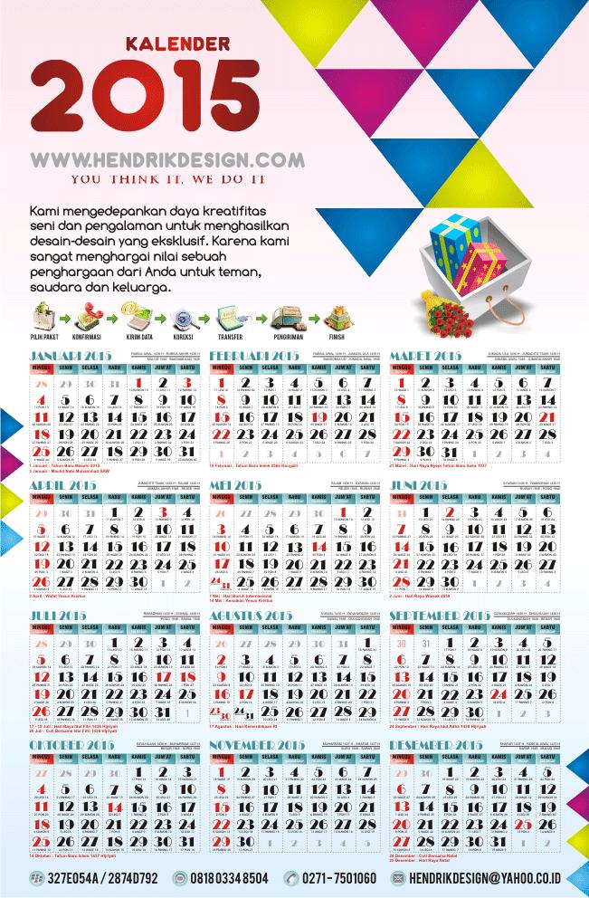 Kalender 2015 Lengkap | New Calendar Template Site