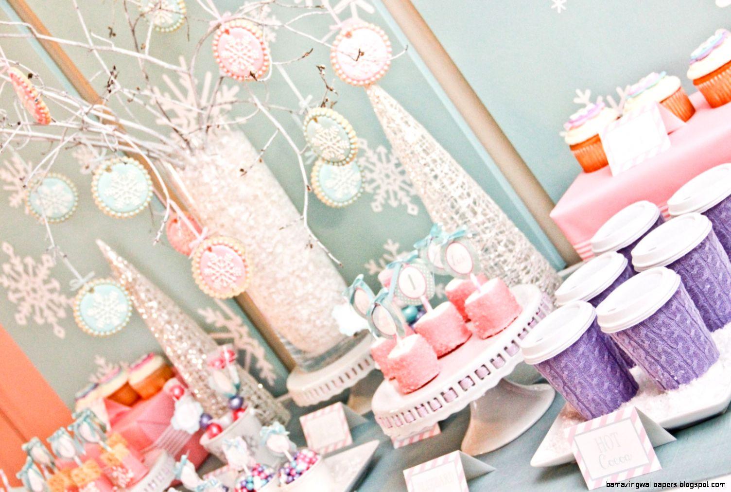 winter wonderland birthday party collection