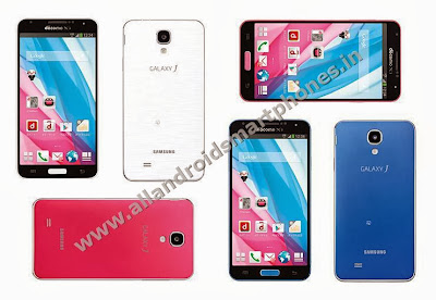Samsung Galaxy J Android Phablet All Colors Front Back Images Photos Review