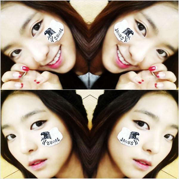 Selca Bora Sistar Two-Face Dukung Boyfriend 'Janus'