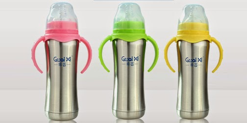 Stainless Steel Baby Bottle - Includes Delivery