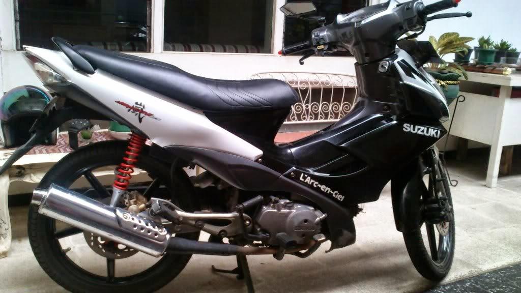 modifikasi motor suzuki arashi terbaru
